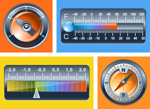 Powerful HTML5 (JavaScript) gauges
